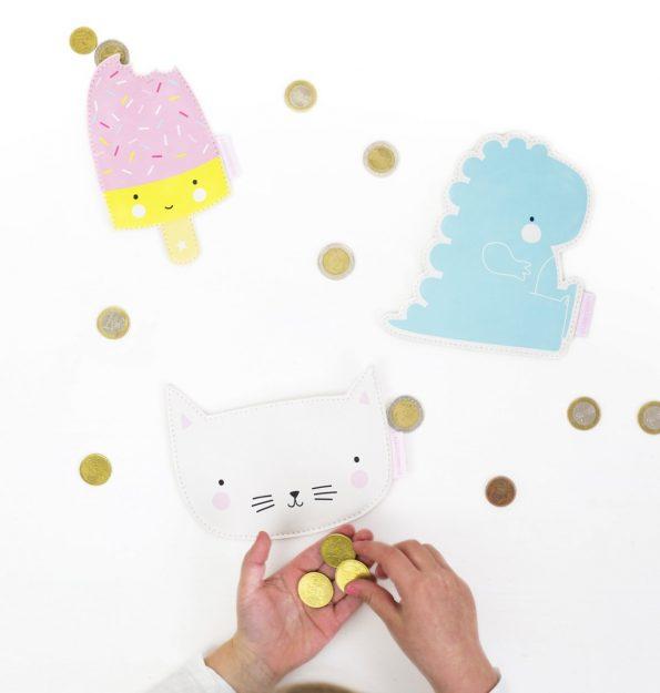 LB-1-LR purses popsicle + t-rex + cat