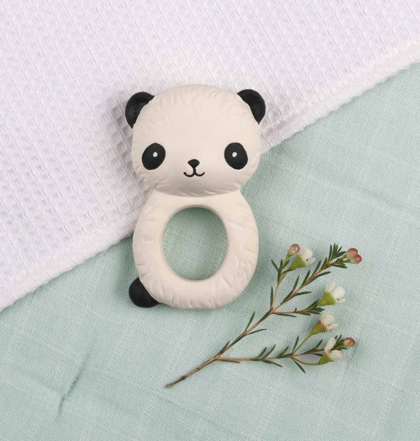 TRPAWH04-LR-7 teething ring panda