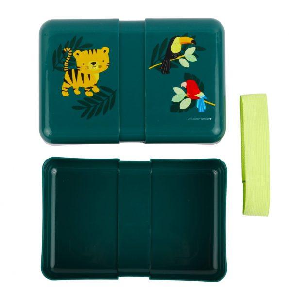 SBJTGR14-LR-2 lunch box jungle tiger