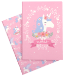 STNBLU03-LR-1 A5 notebooks unicorn