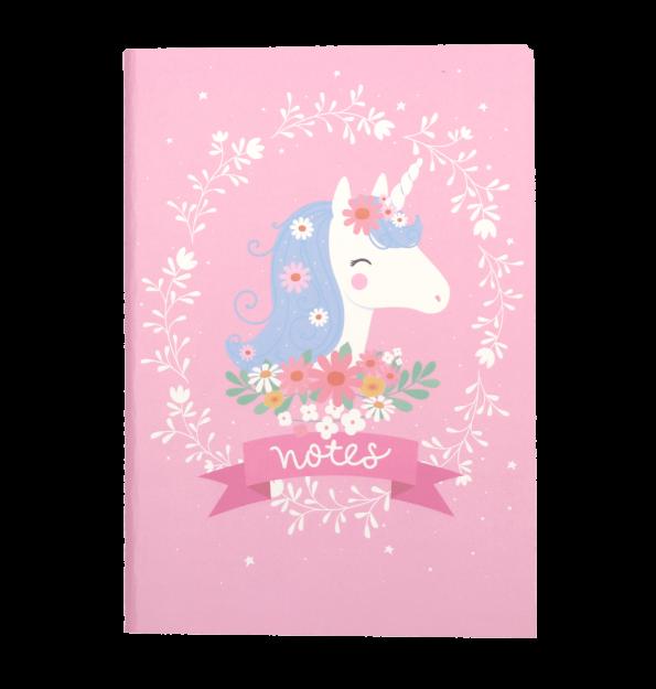 STNBLU03-LR-2 A5 notebooks unicorn