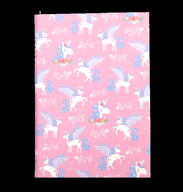 STNBLU03-LR-3 A5 notebooks unicorn