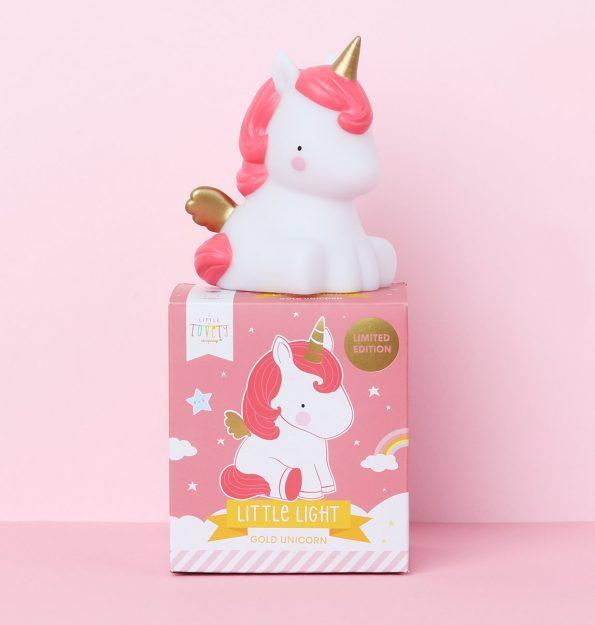 LLUNGO47 -LR-5 little light unicorn gold