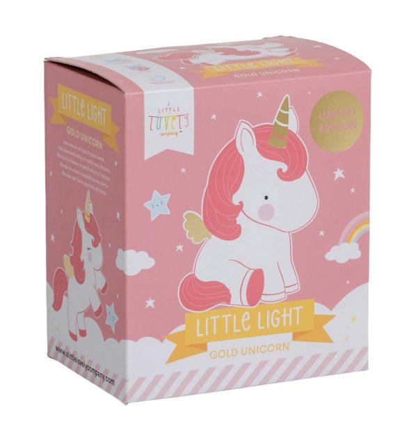 LLUNGO47 -LR-8 little light unicorn gold