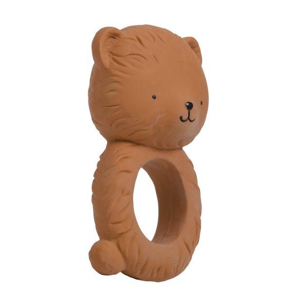 TRBEBR08-LR-1 teething ring bear