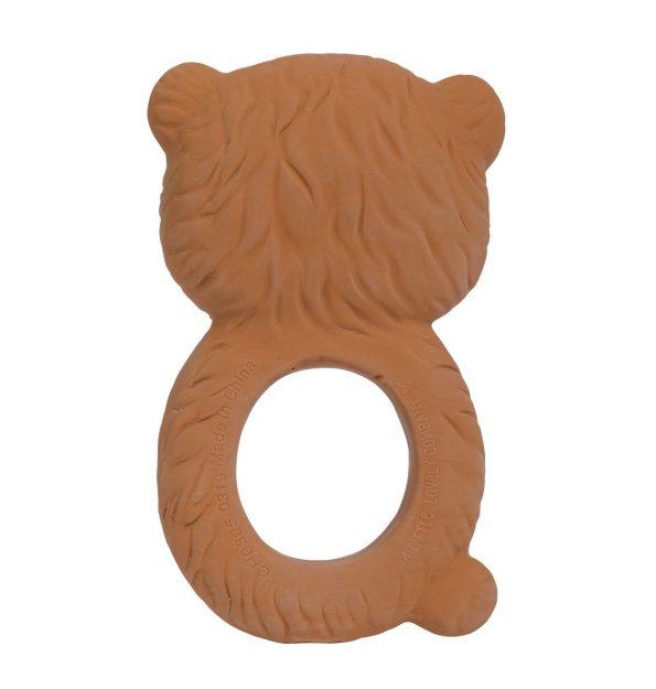 TRBEBR08-LR-4 teething ring bear