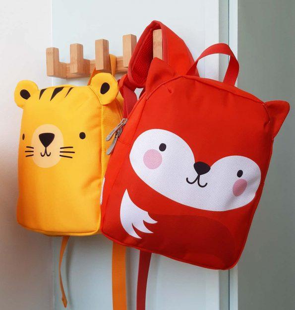 BPFOOR33-LR-4 Little backpack Fox