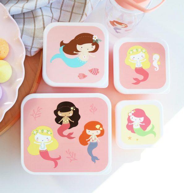 SBSEME40-LR-4-Lunch-&-snack-box-set-Mermaids